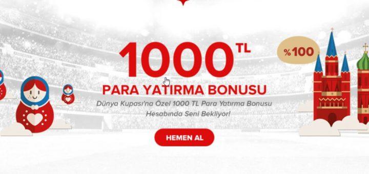 1000 TL Para Yatırma Bonusu İçin Bets10